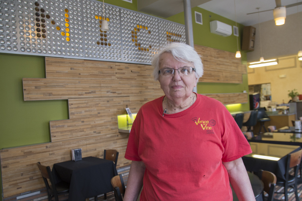 """I find a lot of life and a lot of love working here,"" Sister Judy says of Venice on Vine"
