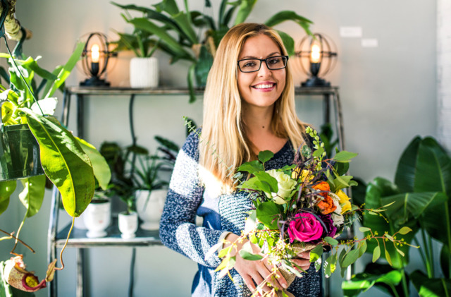 Yulia Bui, owner of Gia and the Blooms