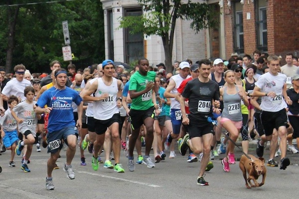 Over-the-Rhine's 5K run and Summer Celebration are Saturday, May 16