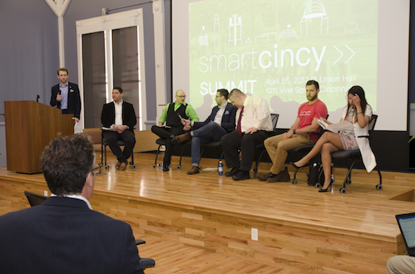 A panel at this spring's Smart Cincy conference.