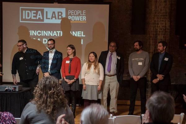 Seven of the eight keynote speakers at last year's IDEALAB.