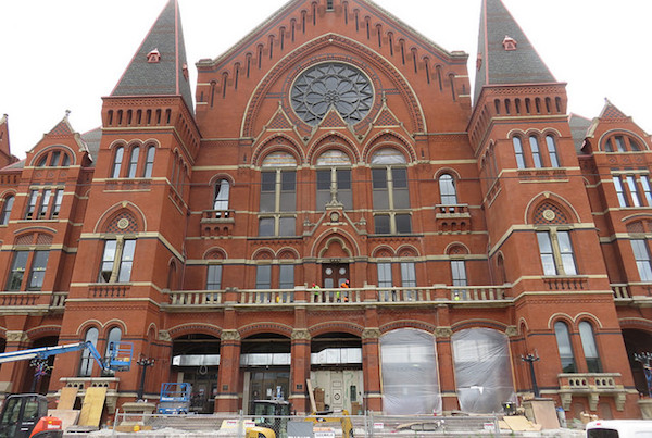 The sky's the limit for Cincinnati's arts scene, with restored Music Hall as linchpin.