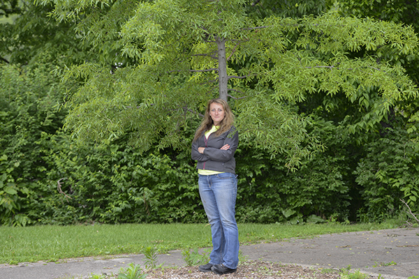 Crystal Courtney heads up Covington's Urban Forestry Board and has big plans for the city's trees.