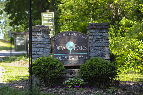 At more than 700 acres, Devou Park is Covington's largest dedicated green space.