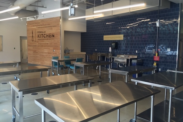 Findlay Kitchen is a space for food entrepreneurs to build and expand their brands.