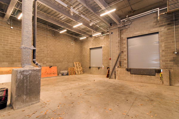 Productions will go more smoothly thanks to a relocated freight elevator and additional, wider loading dock.