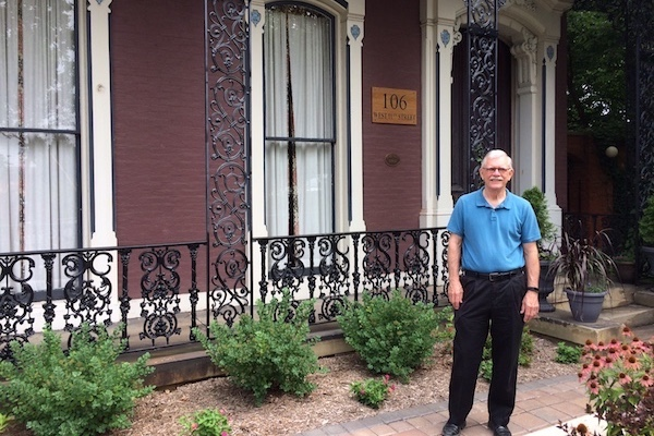 Covington mayor Joe Meyer still lives in the 11th Street house he purchased in 1975.