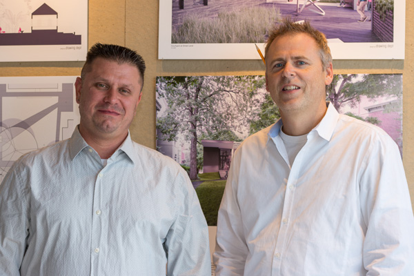 Rob Busch and Ron Novak are the founding partners of the Drawing Dept.