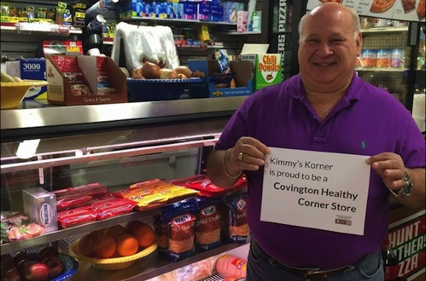Kimmy's Korner Grocery is another Covington corner store committed to providing healthier food options.