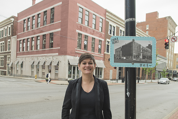Katie Meyer heads up Renaissance Covington, a connector organization that focuses on placemaking, economic development and community events.