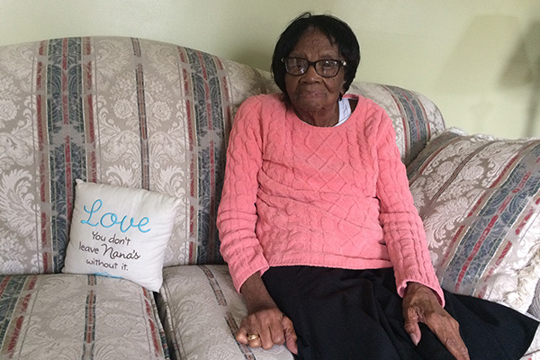 107-year-old Mattie Walker thinks the world has changed for the better.