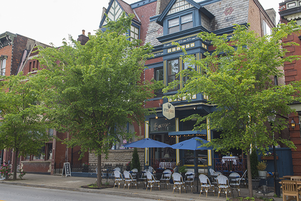 Popular Otto's in Mainstrasse was the first resturant venture for the Weckman family.