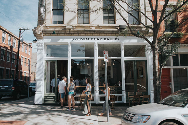 Drawing Dept's design: Brown Bear Bakery