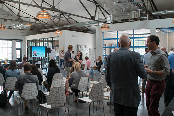 The event was held at NKY Innovation Network's headquarters in Covington.