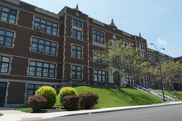 Historic Holmes High School serves the entire Covington community.