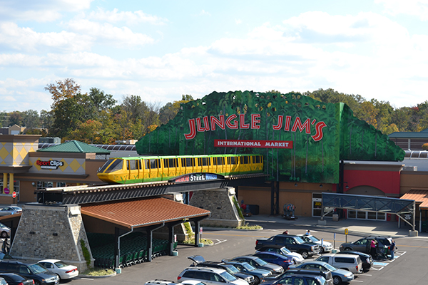 The quirky shopping experience at Jungle Jim's in Fairfield comes straight from its namesake creator's wild imagination.