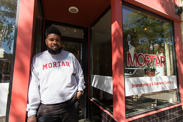 MORTAR co-founder Allen Woods believes Cincy must do a better job of cultivating good talent to prevent creative flight.