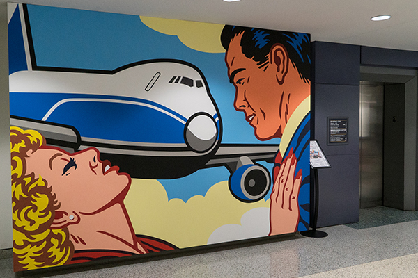 Pop art at CVG