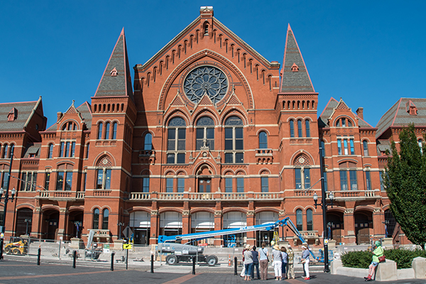 Walking tours of Music Hall's exterior are held 10 to 11:30 a.m. Sat. and 4 to 5:30 p.m. Thurs.