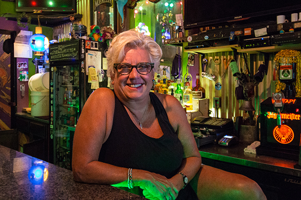 "Up Over owner Amy Kummler is known as the ""fairy godmother"" of the Covington pub scene."