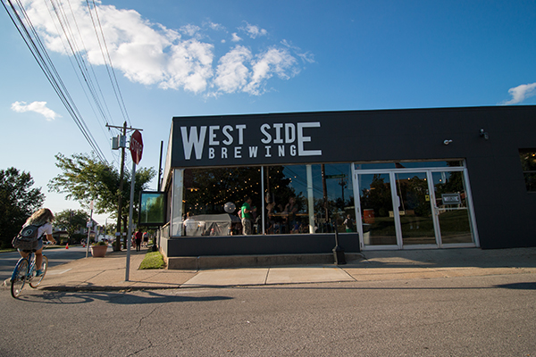 West Side Brewing has become a household name in the community in just a few short months.