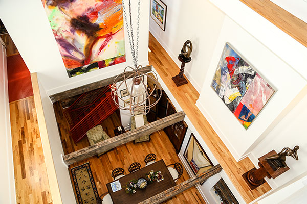 Hill's Wade St. home is equal parts art gallery and residence.