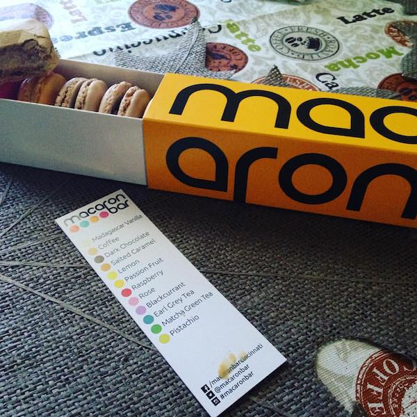 Macaron Bar has several locations in Cincinnati, including a storefront in OTR.