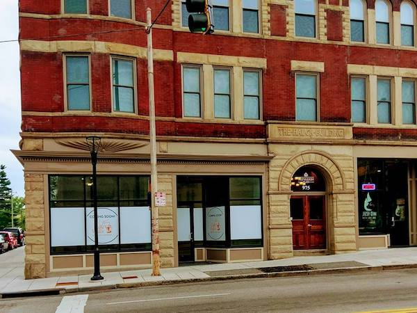 Caffe Vivace will open this fall in the Trevarren Flats building.