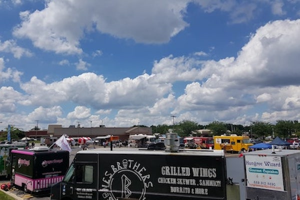 Earlier this summer, Bones Brothers Wings participated in the CFTA Food Truck Festival.
