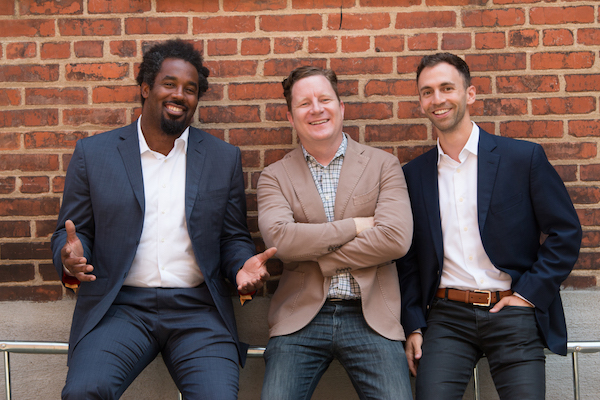 Dhani Jones, Chris McLennan and Max Eisenberg