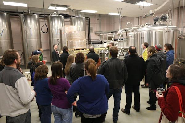 Urban Artifact hosted Crafting Culture in February and brewed a special beer with yeast from Union Terminal.
