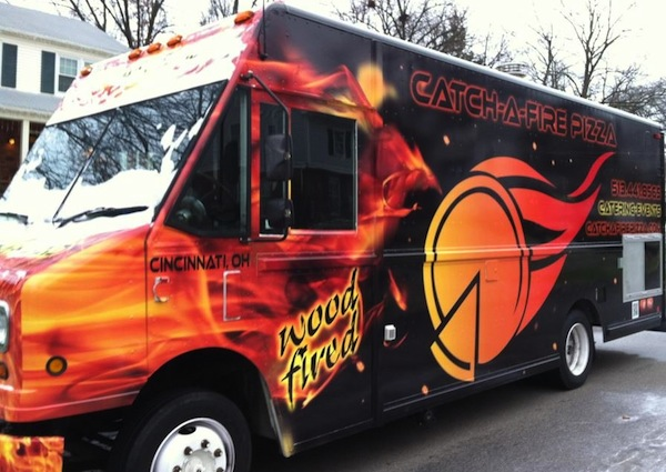 Catch-a-Fire started as a food truck and now operates a cafe in MadTree.