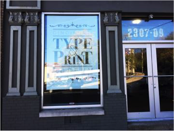 Located in Lower Price Hill, the Cincinnati Type & Print Museum is also a working print shop.