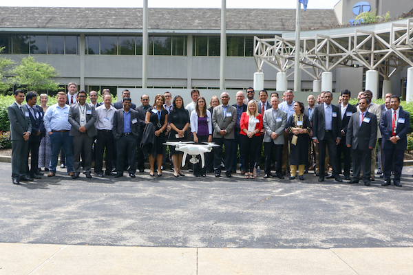 Tata Consultancy Services' Drone Lab group