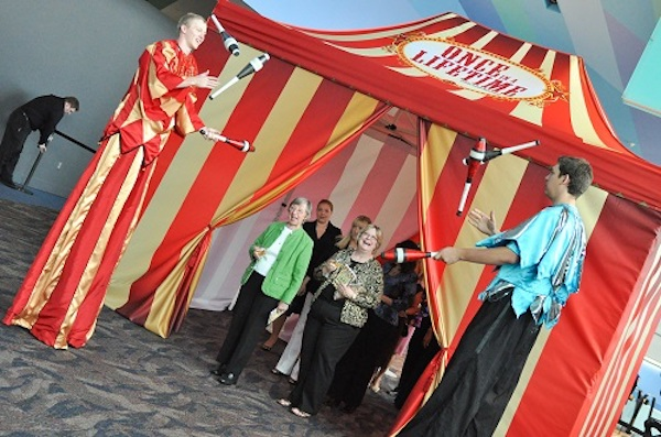 Last year's gala and auction featured a circus theme and raised $400,000.