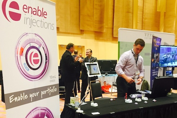 CincyTech company Enable Injections at the 2016 Big Breakfast.