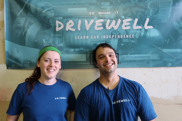 Shelby Dunn and Karl Laube of Drivewell