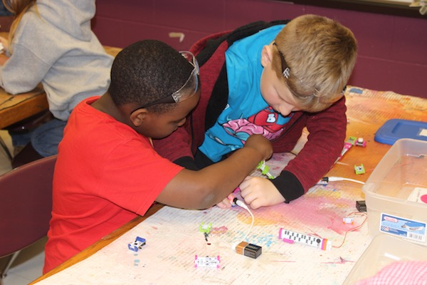 NKY Makerspace provides a variety of hands-on learning activities for local students.