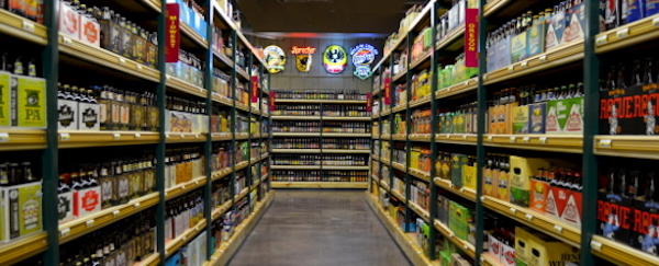 Jungle Jim's carries over 4,000 local and craft beers.