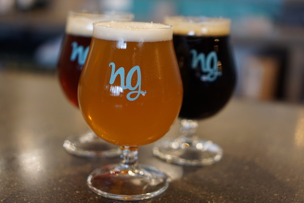 Nine Giant Brewing recently celebrated its one-year anniversary in Pleasant Ridge.