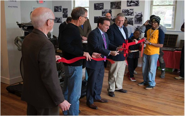 The museum won't officially open until this summer, but it held a ribbon cutting ceremony in November.