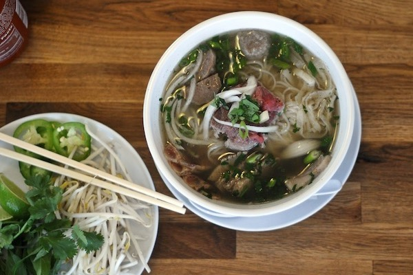 A Vietnamese dish from Pho Lang Thang will be paired with Fab Ferments kombucha.