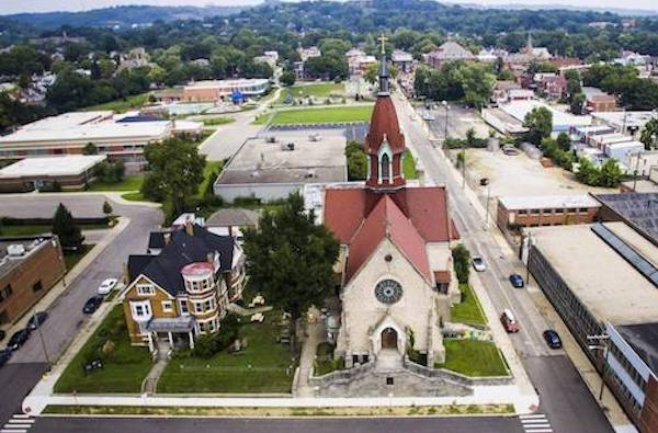 Northside's Urban Artifact is in an old church.
