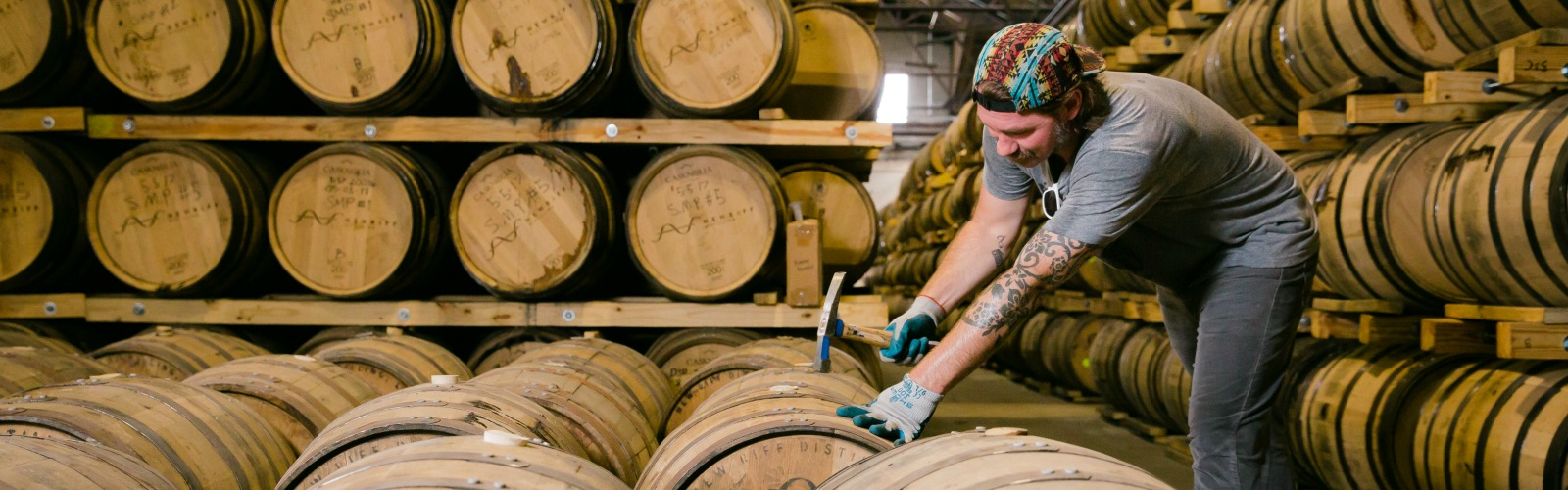 New Riff's bourbon has been barrel-aged for four years. <span class='image-credits'>New Riff Distilling</span>