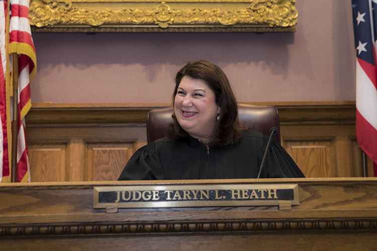 Stark County Common Pleas Judge Taryn Heath.
