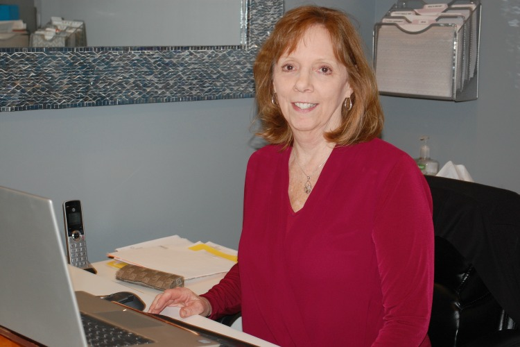 Karen Schulte came from Children's Hospital to work as IFC's office manager.