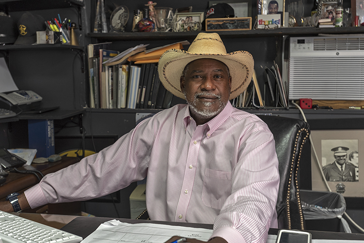 Marvin Butts has owned and operated his Pendleton business for more than 20 years.