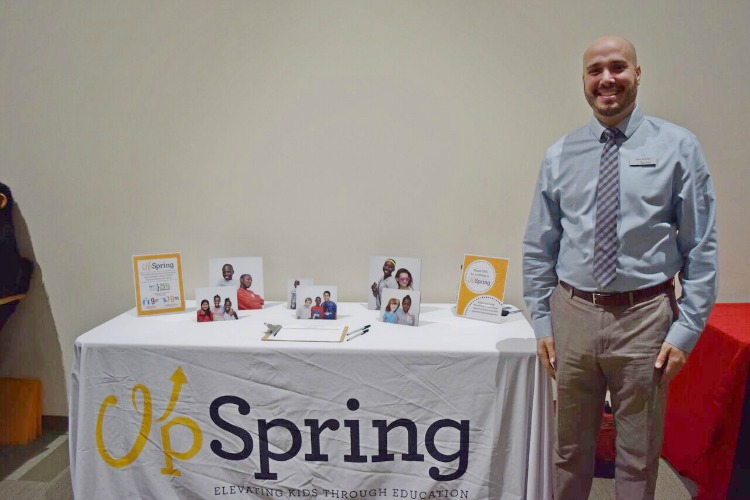 Alex Kuhns, executive director of UpSpring