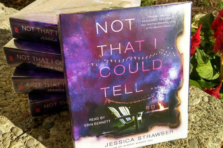 """Not That I Could Tell"" is Strawser's second book."