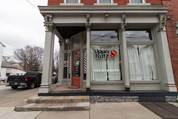 Upper Kutz is a Black-owned barbershop in Covington.